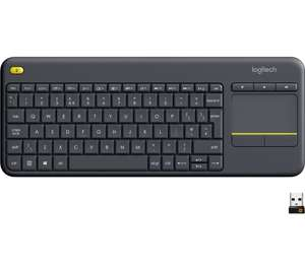 LOGITECH K400 Plus Wireless Keyboard - Dark Grey for £17.99 delivered @ Currys PC World