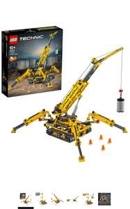 LEGO 42097 Technic Compact Crawler Crane and Tower Crane, 2 in 1 Spiderlike Model, Construction Set - £60.59 @ Amazon Prime