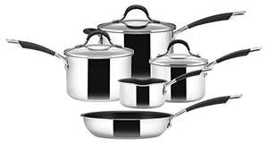 Circulon - Momemtum - Stainless Steel Cookware Set - Total Non Stick - Induction Suitable - Set of 5 £92.99 @ Amazon (Prime Exclusive)