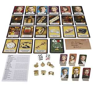 Cluedo Downton Abbey Edition Board Game for Kids Ages 13+, Inspired By Downton Abbey £9.49 @ Amazon Prime