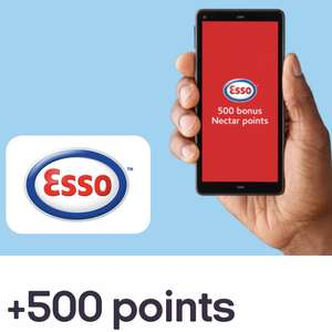 500 Nectar points on first fill up (min 2 Litres) using Esso App
