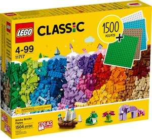 Lego classic 11717 1500 pieces box in store in Sainsbury's
