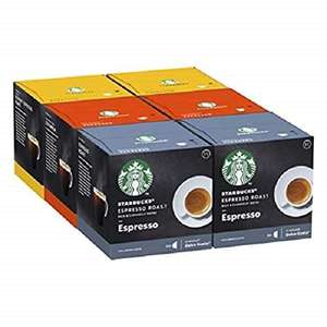 STARBUCKS Nescafe Dolce Gusto Variety Pack - Total 72 Capsules - £15.89 @ Amazon Prime Exclusive
