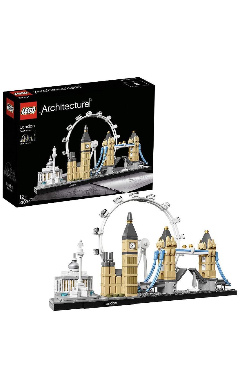 LEGO Architecture 21034 London Skyline Model Building Set £26.49 Amazon prime