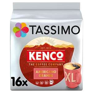 Tassimo Kenco Americano Grande Coffee Pods (Pack of 5, 80 pods in total, 80 servings) £13.49 @ Amazon Prime Exclusive