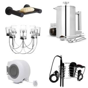 Deals + Free Delivery Using Code - Iron Soap Dish £2.99 / 1500ml Cafetiere Set £16.99 / Hair Dryer & Straightener Holder £5.49 @ Roov