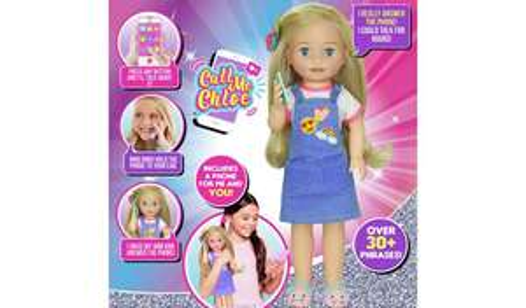 Call Me Chloe Doll £37.50 Argos (free c&c)