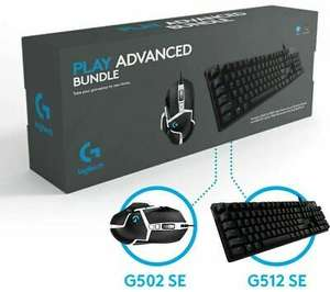 LOGITECH G Play Advanced Gaming Keyboard & Mouse Set DAMAGED BOX - £50.75 @ currys_clearance eBay