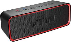 Vtin R2 Portable Bluetooth Speaker with Bass - 24h playtime - £8..99 Sold by HBH LTD and Fulfilled by Amazon (Prime Exclusive)