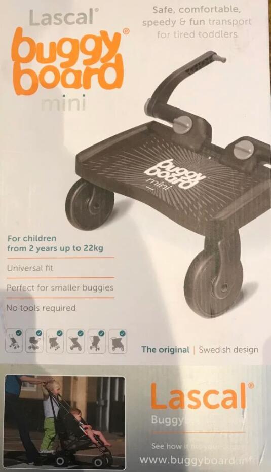 Lascal buggy board mini £7.99 @ Aldi Prestwick