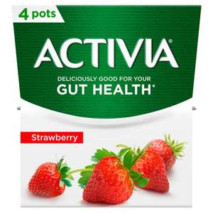 Activia 4 Pack x 120g (All Flavours) £1 @ Iceland