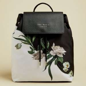 Seasonal Sale up to 50% off + Free Delivery e.g ROLANDA Elderflower drawstring backpack £55 - Free delivery @ Ted Baker