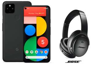 Claim a free pair of BOSE QC35 II Headphones with the Google Pixel 5 128GB 5G - £599 click & collect @ Argos