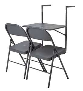 Argos Home Space Saving 2 Seater Balcony Bistro Set £20 free click and collect at Argos