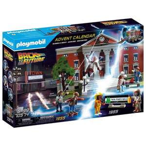 Playmobil 70574 Back to the Future Advent Calendar (97 pieces) £24.99 delivered or Click & Collect @ Smyths