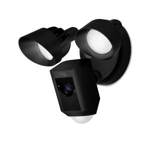 Ring Floodlight Cam Motion Activated Security Camera, Wired, Black £194.99 @ The electrical showroom