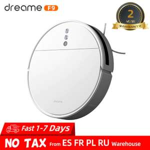 Xiaomi - Dreame F9 Sweeping & Mopping Robot Vacuum Cleaner/2500Pa/ - £165.61 delivered from EU @ AliExpress Deals / dreame Official Store
