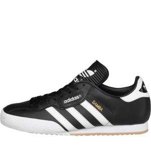 Adidas Samba trainers £49.98 delivered at M&M Direct
