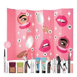 benefit Cosmetics Shake Your Beauty 12 Day Advent Calendar £46.21 delivered with code @ Look Fantastic