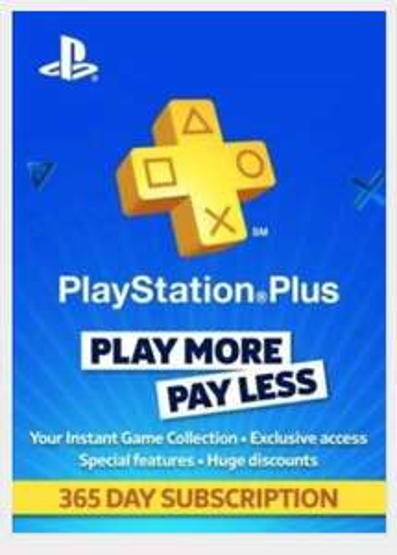 PlayStation Plus 12 month membership UK £37.09 @ Instant gaming