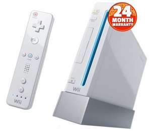 Nintendo Wii Console - White (no game) Pre-owned with 2 Year Warranty - £30 / £31.95 delivered @ CeX