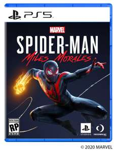 Spider-Man: Miles Morales PS5 Pre Order £44.99 (Using Code) @ Curry's PC World