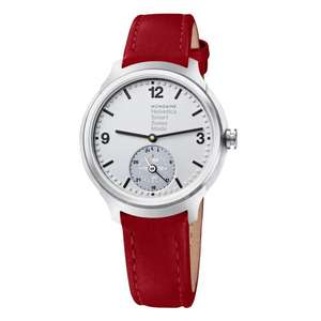 Mondaine Helvetica Smartwatch, 44 mm, red Smartwatch, MH1.B2S80.LC @ TK Maxx * Now £200!