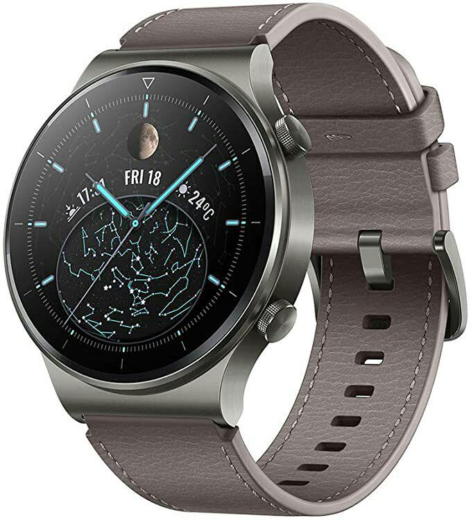 HUAWEI WATCH GT 2 Pro Smartwatch,AMOLED,2-Week Battery Life,Nebula Gray,Claim A Free Pair Of Huawei Freebies £270 @ Amazon
