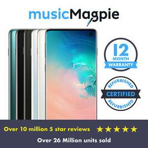Used Samsung Galaxy S10+ Plus Prism Black Vodafone Good From £323.18 @ Ebay Music Magpie