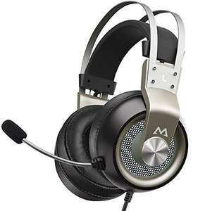 Mpow PS4 Headset Xbox One - Stereo Surround Sound with Noise Cancellation £18.99 with voucher @ HBH LTD and Fulfilled by Amazon