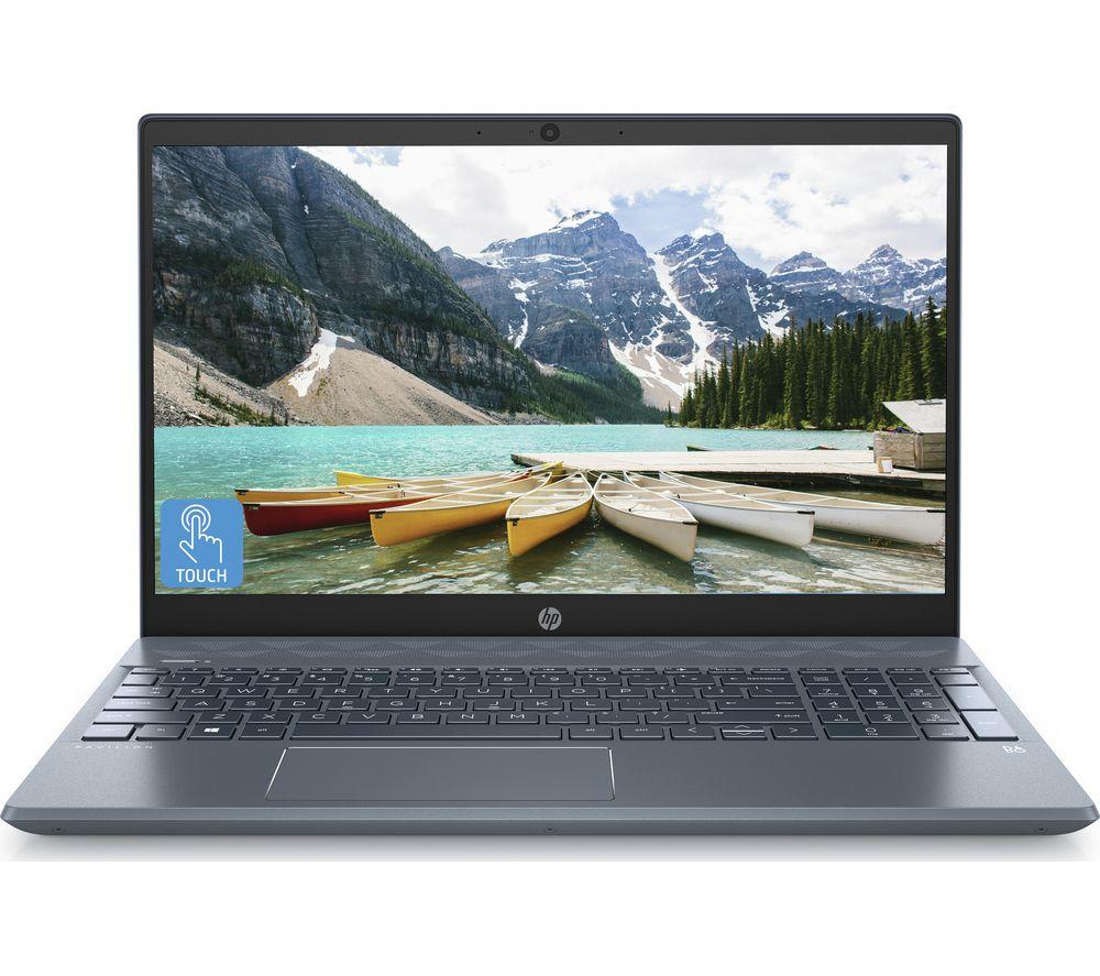 "HP Pavilion 15-cw1511 15.6"" Laptop - AMD Ryzen 3, 256 GB SSD, Blue (Touchscreen) £399 @ Currys"