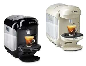 Tassimo by Bosch Vivy 2 Pod Coffee Machine (Black or Cream) + £20 Tassimo Vouchers £29.99 - discounted at checkout @ Argos (click + collect)