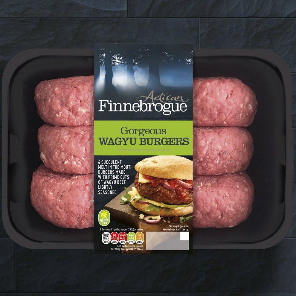 Artisan Finnebrogue Wagyu burgers (Pack of 6) £6 @ Costco - Stevenage in Store