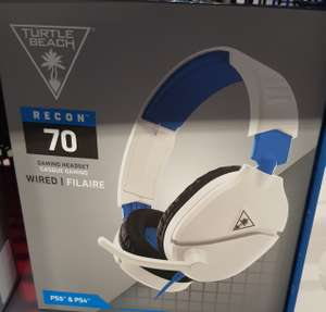 Playstation 5 & 4, Switch and Xbox One, TURTLE BEACH Recon 70P 2.1 Gaming Headset - White £24.99 @ Currys PC World