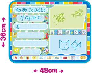 Tomy Aquadoodle My ABC Doodle Large Water Doodle Mat £10 (Prime) + £4.49 (non Prime) at Amazon