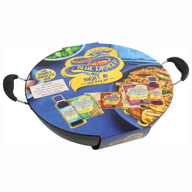 Blue Dragon Wok Set £4.99 @ B&M Store (Swinton)