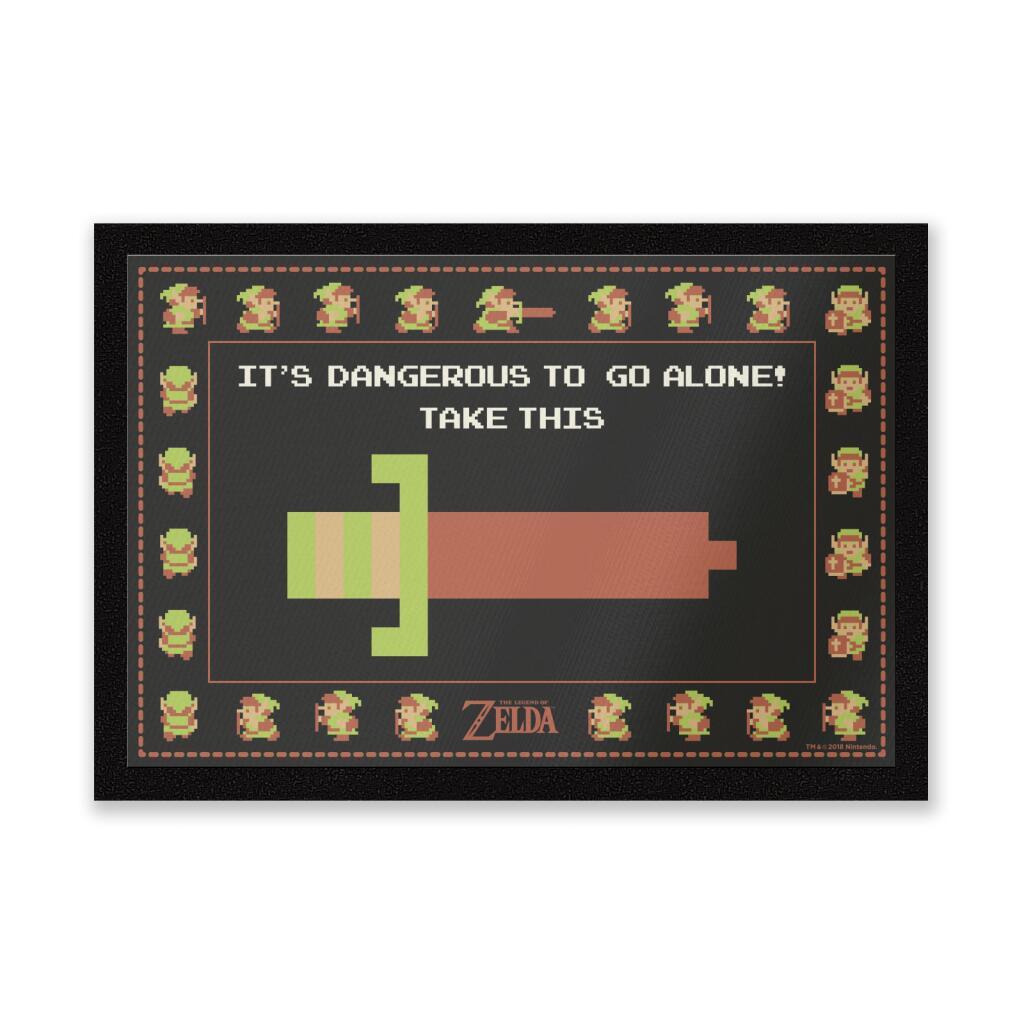 25% off various Geeky doormats, using code, @ Zavvi