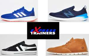 Up to 70% off +Extra 20% off + Free Delivery with code Brands include Adidas, Asics, Gola Etc Adidas Runfalcon £22.39 @ Express Trainers
