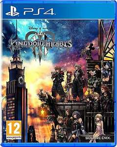Kingdom Hearts 3 (PS4) Ex Rental £6.99 @ Boomerang Video Game Rentals Ebay