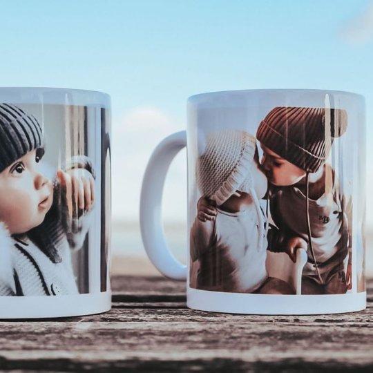 Photo on a mug £3.81 free delivery if app downloaded @ Optimalprint UK