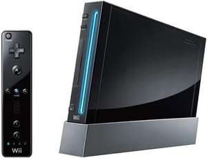 Nintendo Wii Console, Black (No Game) Discounted £35 @ CeX (£1.95 delivery)