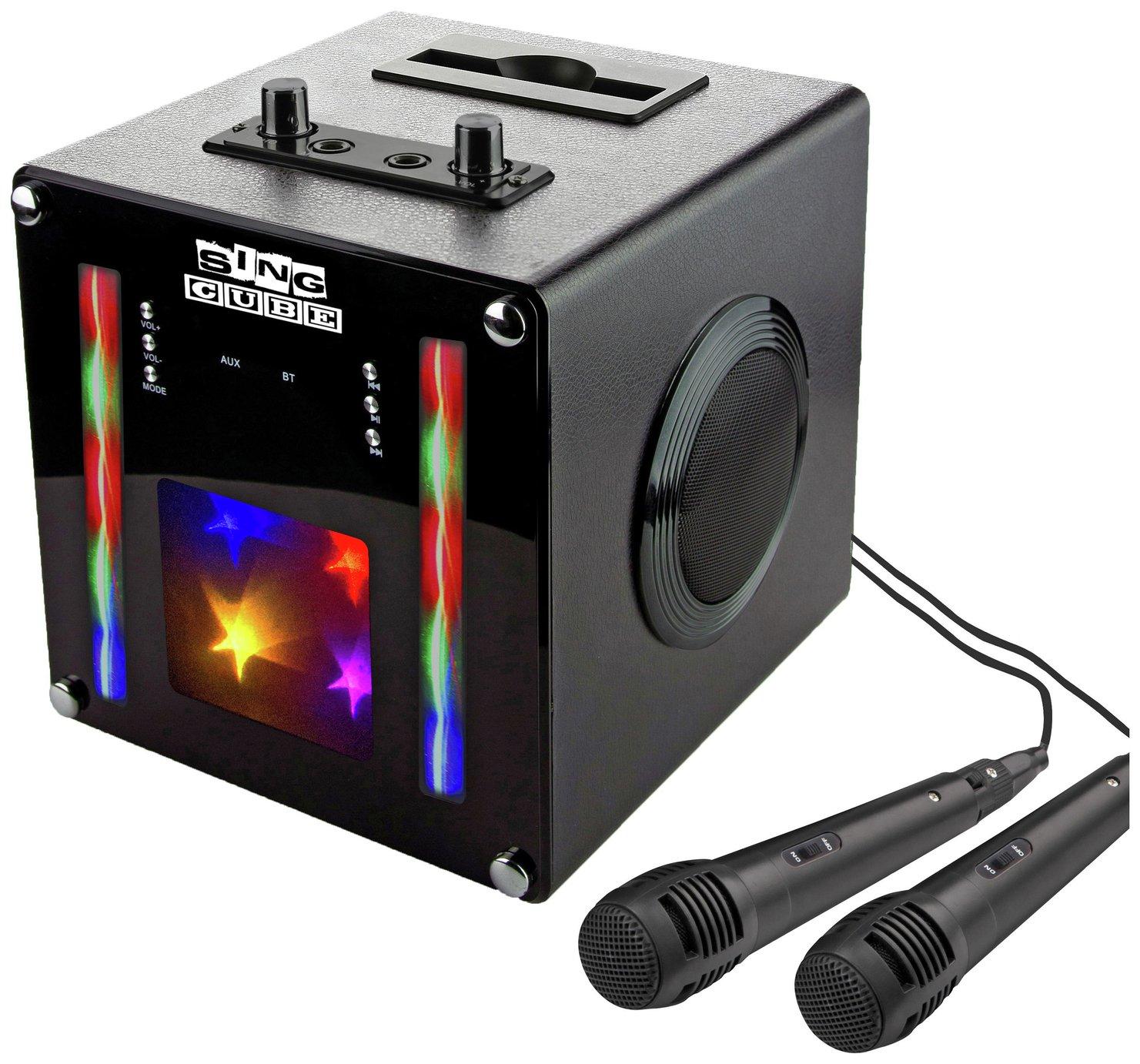 RockJam SingCube Bluetooth Karaoke Machine £30 free click and collect at Argos