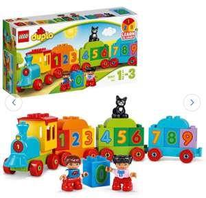 LEGO DUPLO My First Number Train Toy Building Set - 10847 free click & collect £8.28 Using Code @ Argos