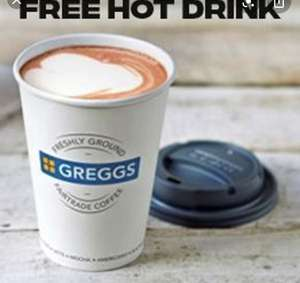 Free Hot Drink with Updated App - Buy 9 Coffees and Get the 10th Free @ Greggs