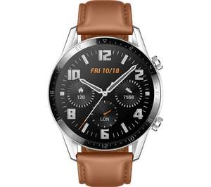 HUAWEIWatch GT 2 Classic - 46 mm, Pebble Brown-2 Year Guarantee - £118 @ Currys PC World