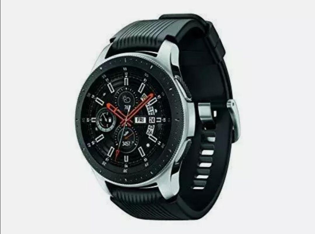 Grade A Refurbished Samsung Galaxy Watch 46mm Silver Bluetooth, SM-R800 Black Silver - £121.49 Delivered @ Stock Must Go / Ebay
