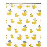 Ducks shower Curtain £1.25 +Free Click & Collect @ Asda