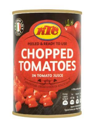 KTC Chopped Tomatoes 400g 30p at Sainsbury's