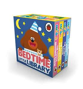 Hey Duggee: Bedtime Little Library Board books £2.99 (+£2.99 non-prime) @ Amazon