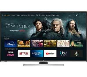 "JVC LT-40CF890 Fire TV Edition 40"" Smart 4K Ultra HD HDR LED TV Amazon Alexa £31.49 @ Curys / eBay"